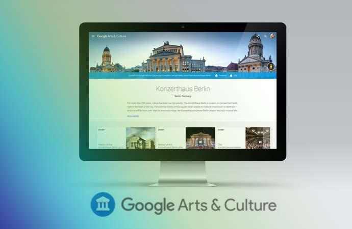 Das Konzerthaus Berlin bei Google Arts & Culture