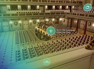 Neu in der Ausstellung: Durchs Konzerthaus in VR